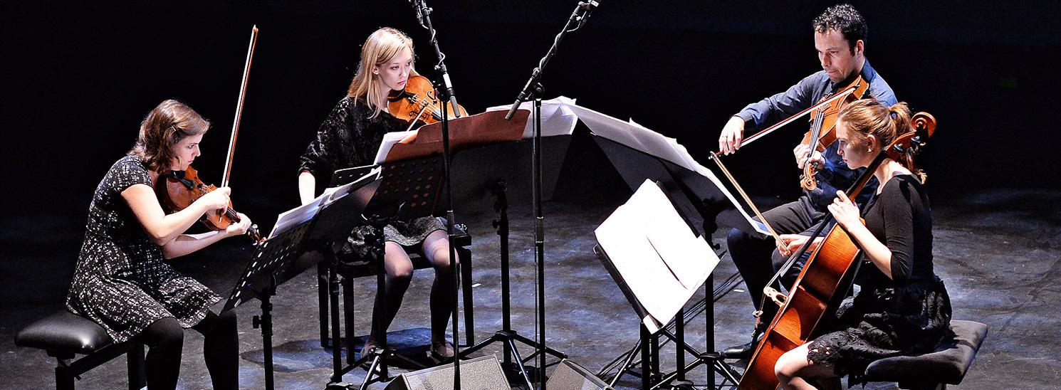 2017 Ensemble-in-Residence: Mivos Quartet